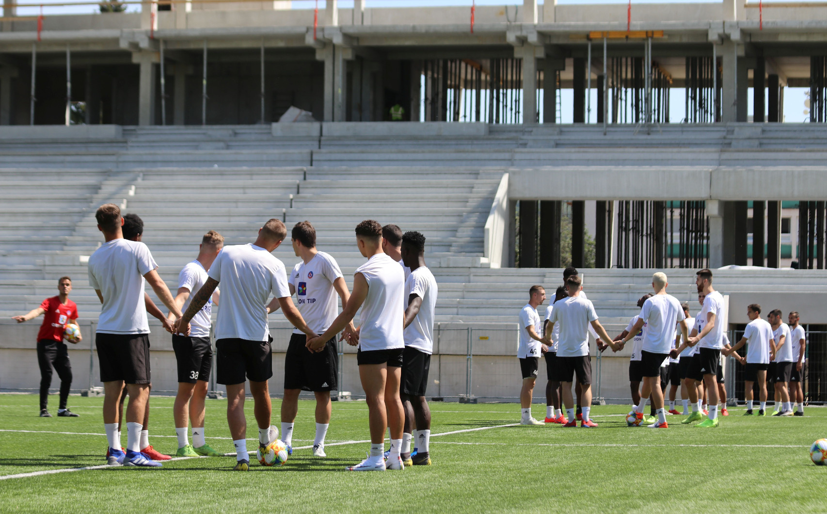 A-team | We have started preparations for the new season